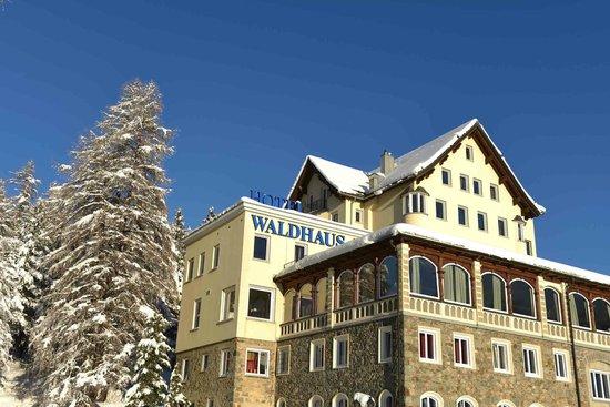 Hotel Waldhaus Am See: Hotel Winter