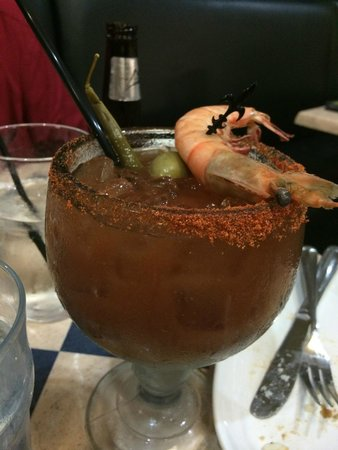 Deanie's Seafood: Bloody Mary at Deanie's in New Orleans, Louisiana a Must try