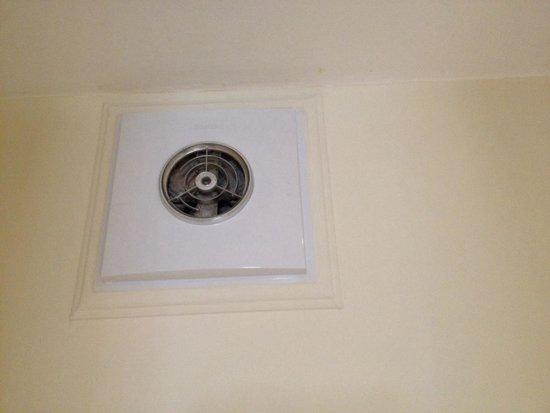 42 The Calls: Bathroom extractor fan - full of dust!
