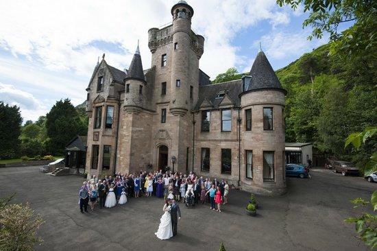 Broomhall Castle : The Lloyd Wedding