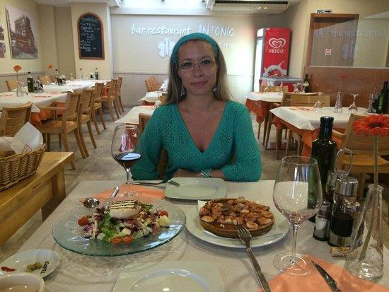 Bar Restaurante Antonio : Ресторан Антонио