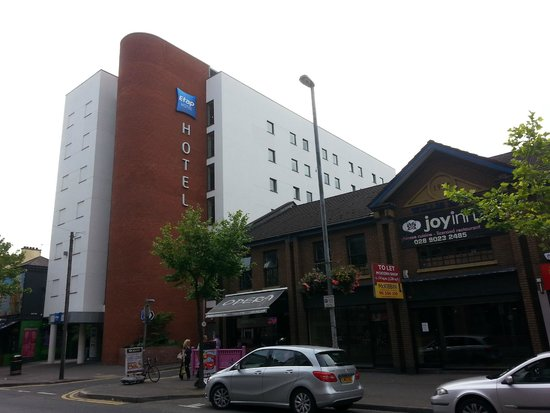 From across the road picture of hotel etap belfast for Hotel etap hotel
