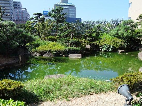 ANA Crowne Plaza Hiroshima: 庭園での和朝食
