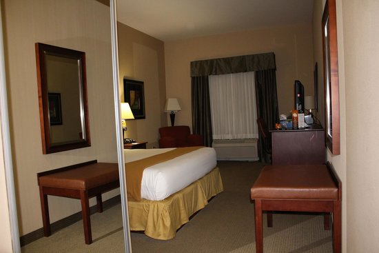 Holiday Inn Express Hotel & Suites Poteau: Room from door