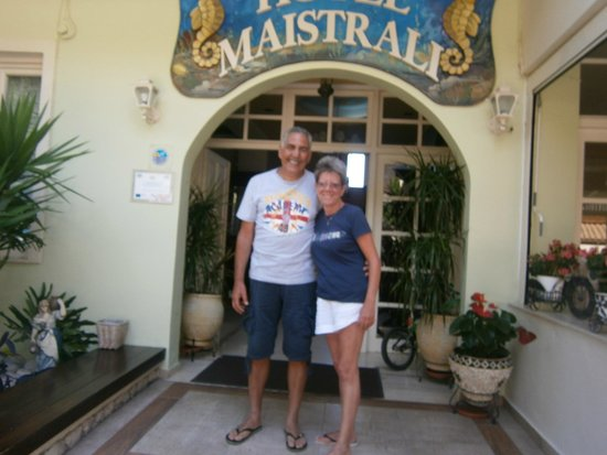 Maistrali Hotel: Last day at Parga