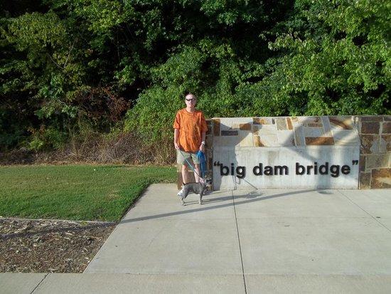Donnie at Big Dam Bridge