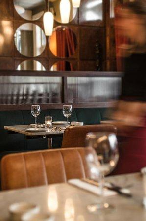 Odessa Club & Restaurant : Ground floor restaurant