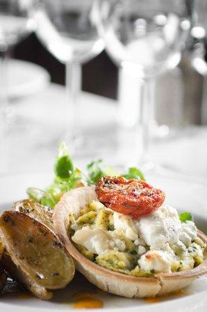 Odessa Club & Restaurant : Polenta & Goats cheese tart