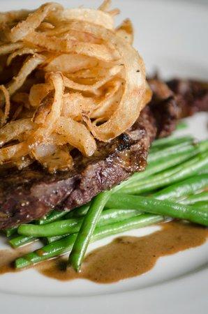 Odessa Club & Restaurant : Rib eye steak