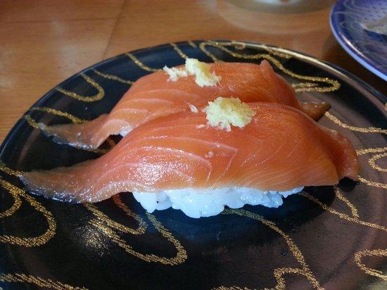 Gourmet Sushi-Go-Round Kantaro, Goryokaku Park: 大助