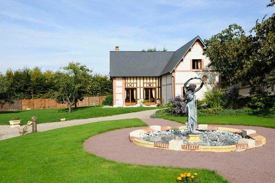 Le Clos des Fontaines : Struttura case tipiche dell'alta Normandia