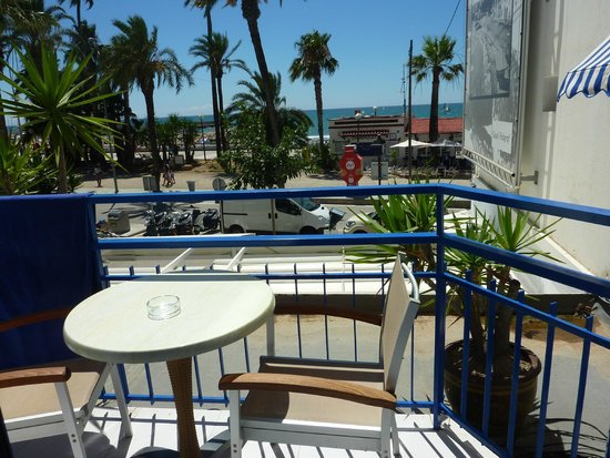 Hotel Platjador: Balcony of room 104