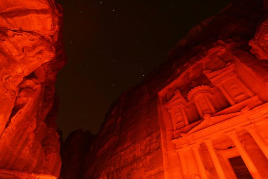 Petra By Night: Some nice night sky scenes