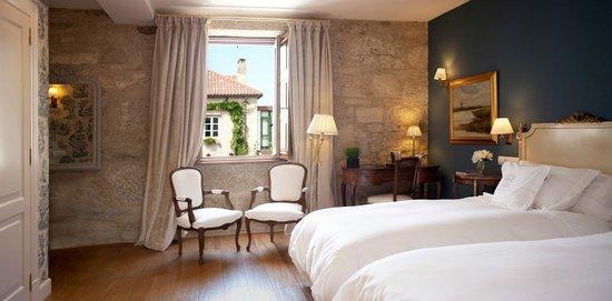 Hotel Spa Relais & Chateaux A Quinta da Auga : Habitación