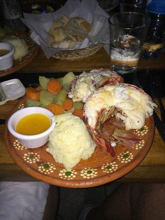 Fernando Jr´s Lobster House: Muy rico!!