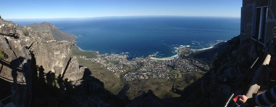 Table Mountain Aerial Cableway: Panorama