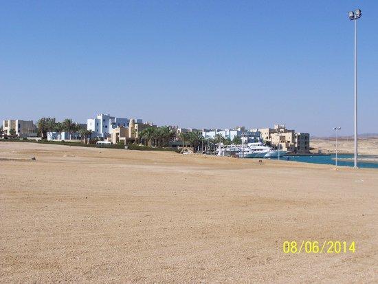 Marina Lodge at Port Ghalib: Cały kompleks hotelowy