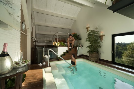 Hotel Spa Relais & Chateaux A Quinta da Auga: Spa privado