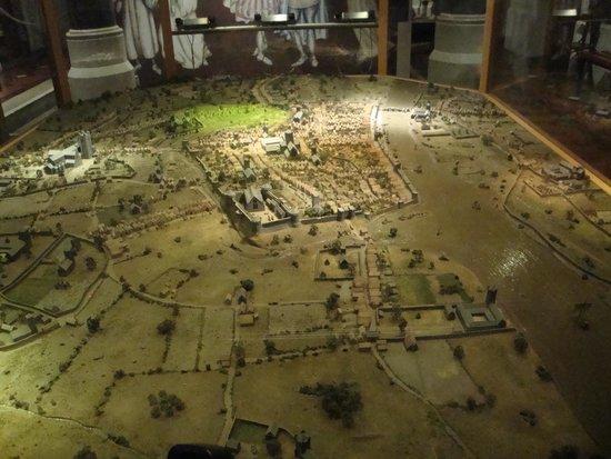 Dublinia: Experience Viking and Medieval Dublin : Maqueta historia de Dublin