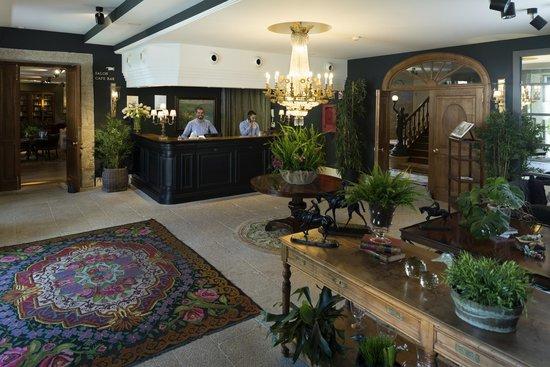Hotel Spa Relais & Chateaux A Quinta da Auga: Recepción