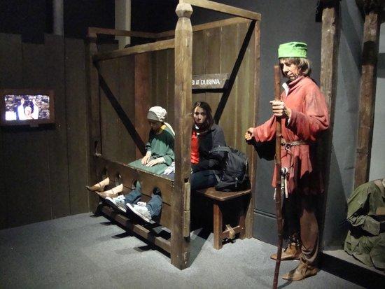 Dublinia: Experience Viking and Medieval Dublin : Los que se portan mal...