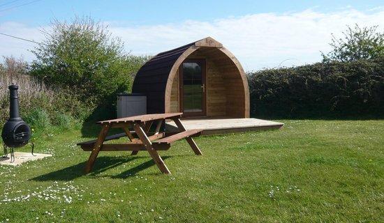 Tollgate Farm Caravan and Camping Park: Pod number 1