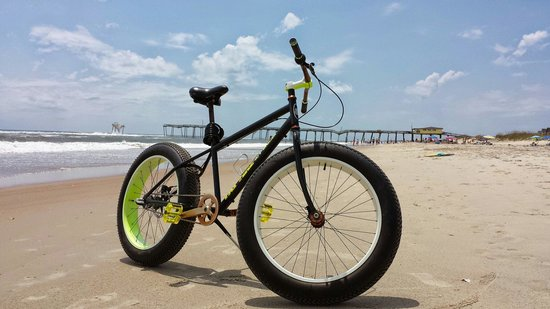 A.S Austin Co.: Fat tire bike rental.  Advisable to ride with a tailwind on the beach.  It's a great way to see