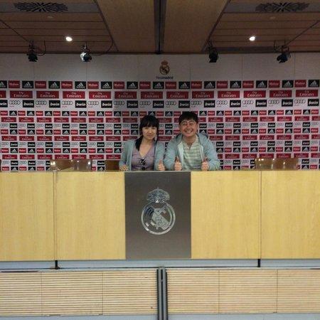 Stadio Santiago Bernabeu : Отсчитываю Реал Мадрид