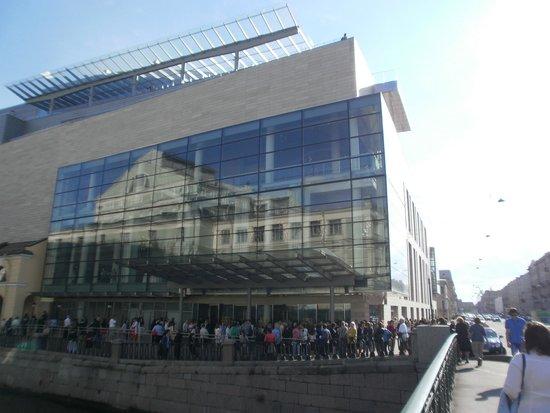 Théâtre Mariinsky : Новое здание и отражение старого Мариинского театра