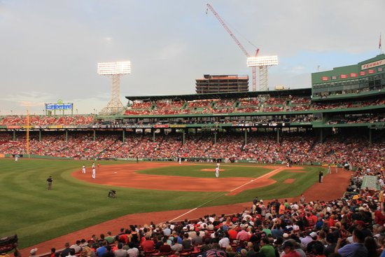 Fenway Park: View from grandstand