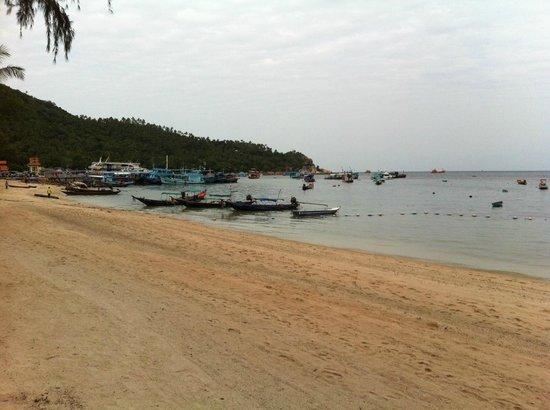 Koh Tao Montra Resort & Spa: Es esto una playa o un puerto?