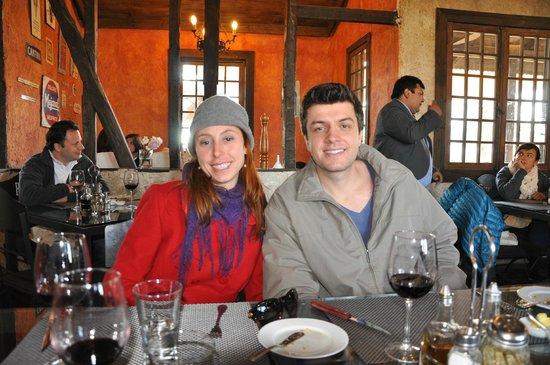 Rayuela Wine & Grill at Vina Viu Manent: almoço