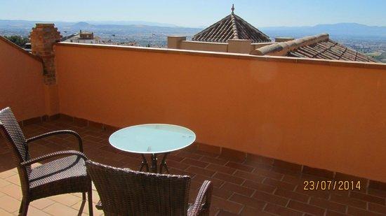 Hotel Los Cerezos: terasse
