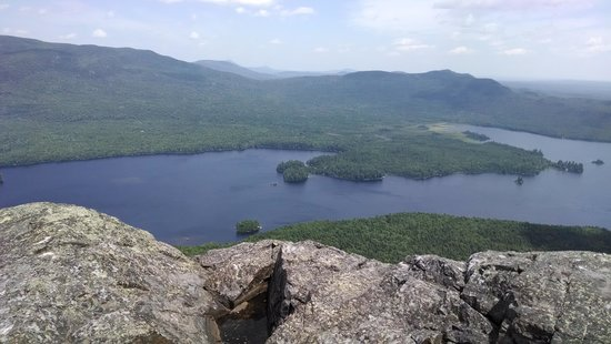Rockwood, ME: top of Borestone Mt.