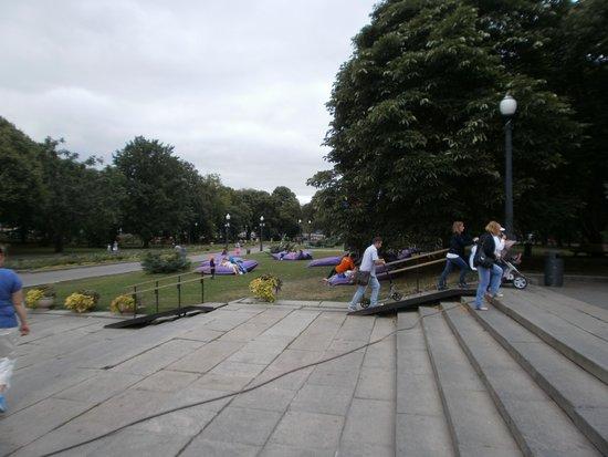 Gorkiy Central Park of Culture and Recreation: Так можно отдыхать