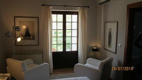 La Almunia del Valle: chambre