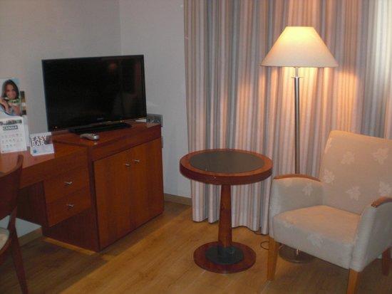 Tryp Valencia Oceanic Hotel : zithoekje
