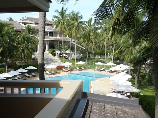 Amaryllis Resort & Spa: View from main house