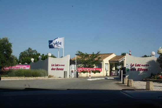 Siblu Villages - Le Lac des Reves: Entrance