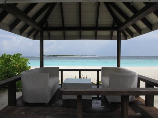 KIHAAD Maldives: View from Lagoon Beach Villa