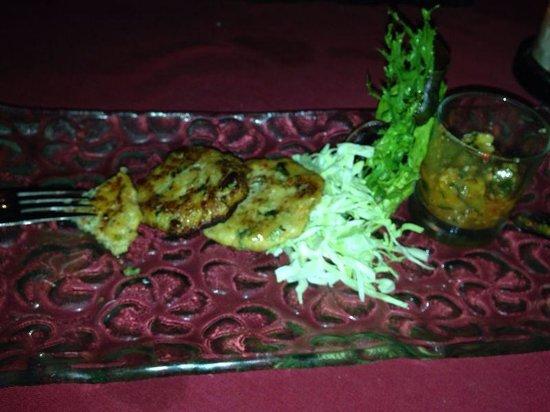 Art Cafe Sanur: Thai fish cakes
