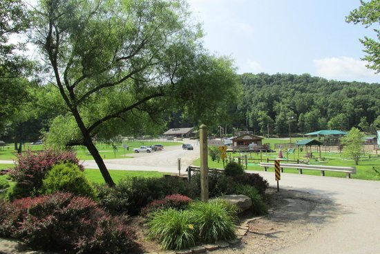 Rocky Fork Ranch Resort: The lower part, where all the activities are
