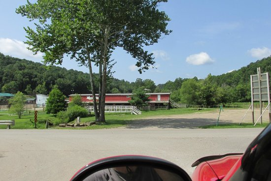 Rocky Fork Ranch Resort: Rodeo/Horseback riding area