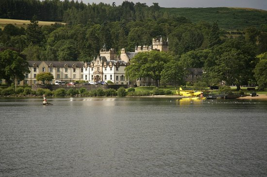Cameron House on Loch Lomond: Cameron House from the Loch