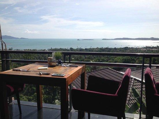 Mantra Samui Resort: View from Ubuntu restaurant