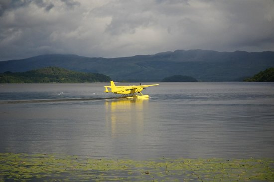 Cameron House on Loch Lomond: Sea plane at Cameron House