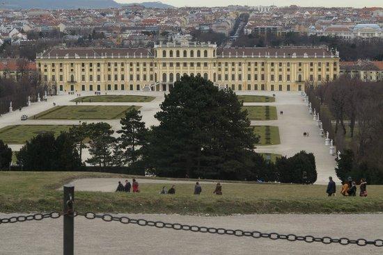 Schloss Schönbrunn: Vista do Palácio - Café Gloriette