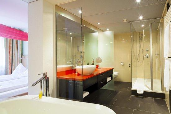 Hotel Du Parc: Deluxe Badezimmer