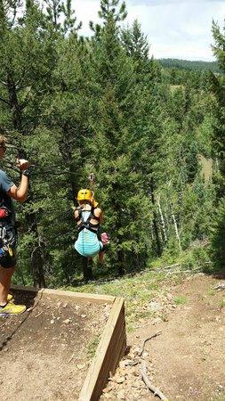 Denver Adventures: Ziplining