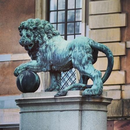 Royal Palace: Шведский лев